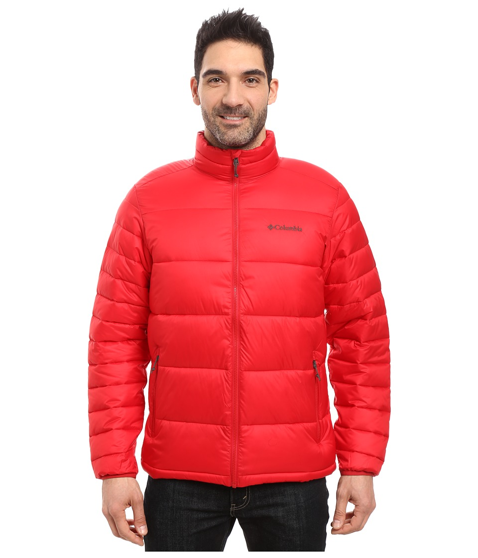 Columbia - Frost Fighter Jacket (Mountain Red) Men's Coat