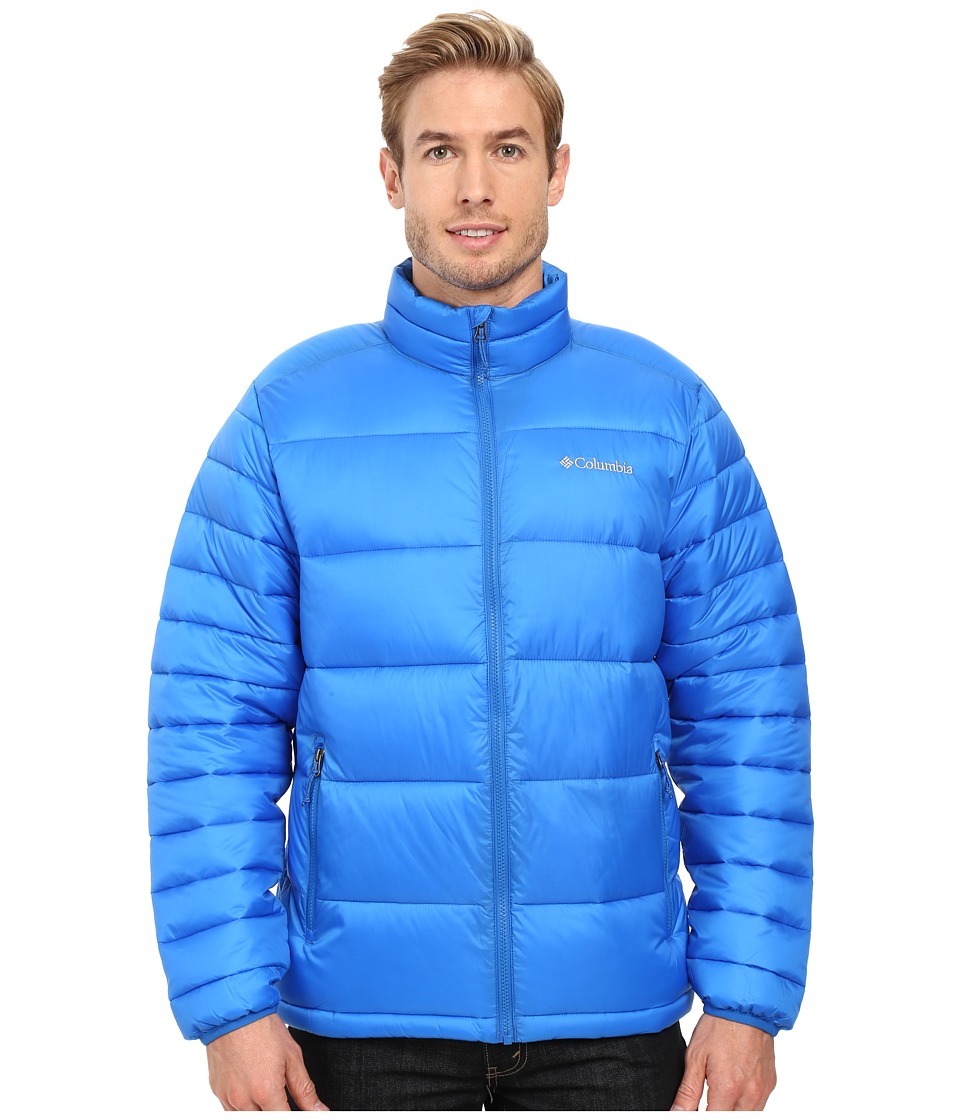 Columbia - Frost Fighter Jacket (Super Blue) Men's Coat