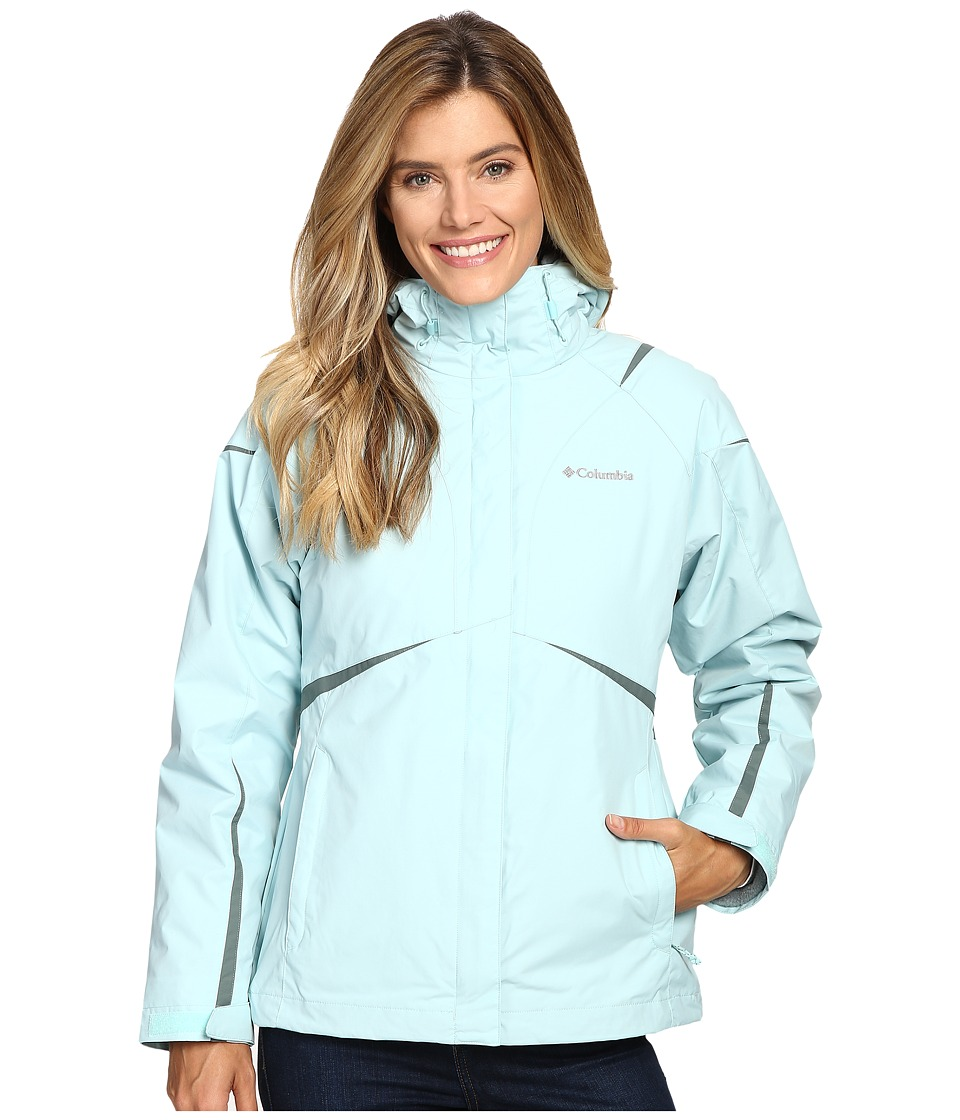 Columbia Blazing Star Interchange Jacket (Spray) Women