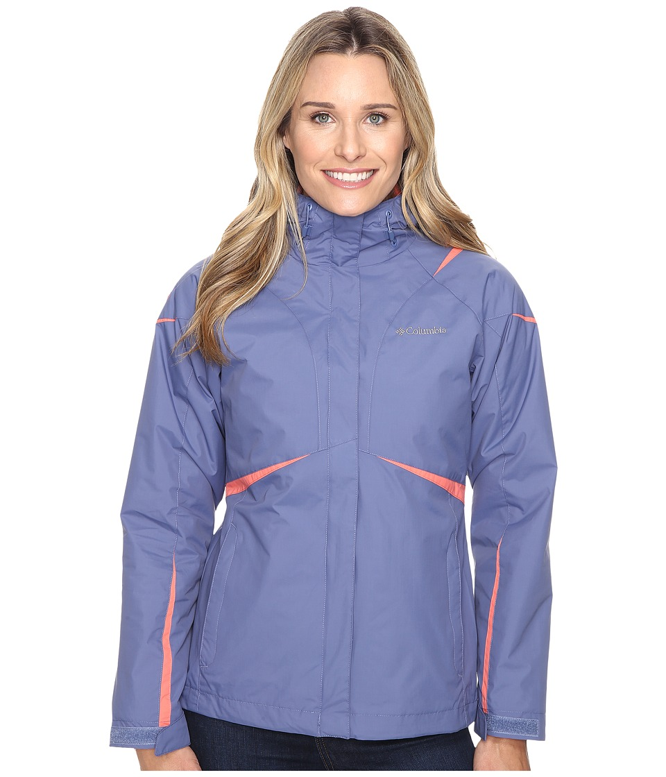 Columbia Blazing Star Interchange Jacket (Bluebell) Women
