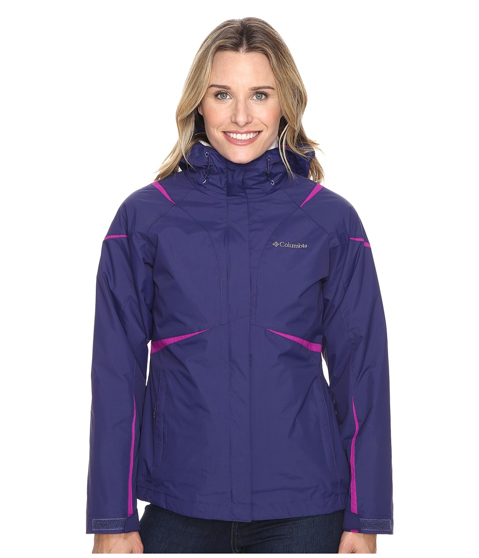 Columbia Blazing Star Interchange Jacket (Nightshade) Women
