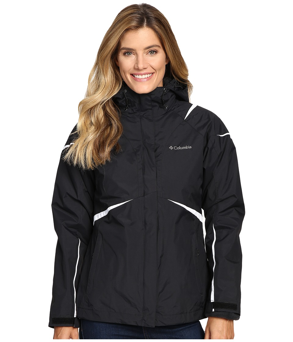 Columbia Blazing Star Interchange Jacket (Black) Women