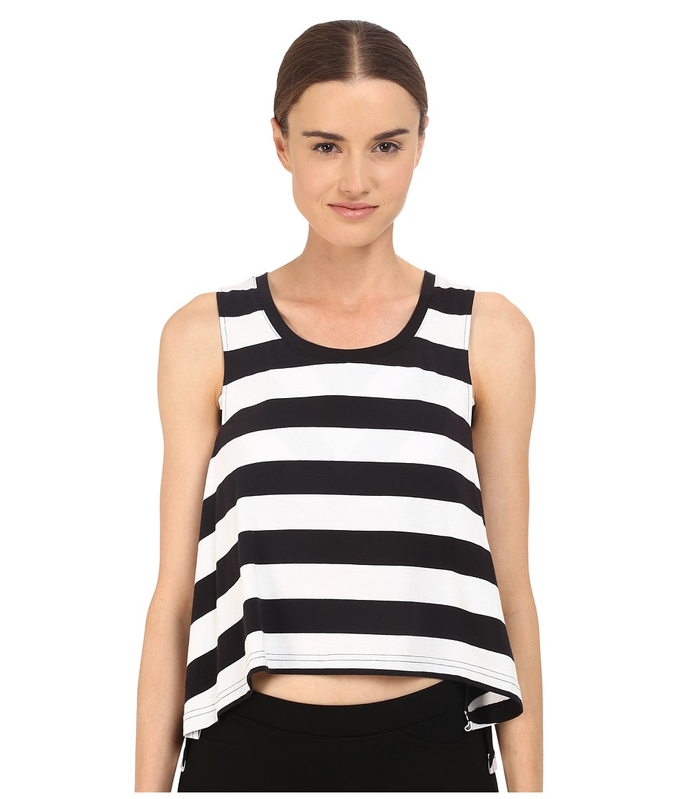 adidas Y-3 by Yohji Yamamoto - Multi Strap Tank Top (Black/White) Women's Sleeveless