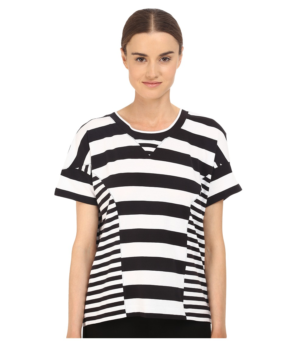 adidas Y-3 by Yohji Yamamoto - Multi Starp H Tee (Black/White) Women's T Shirt