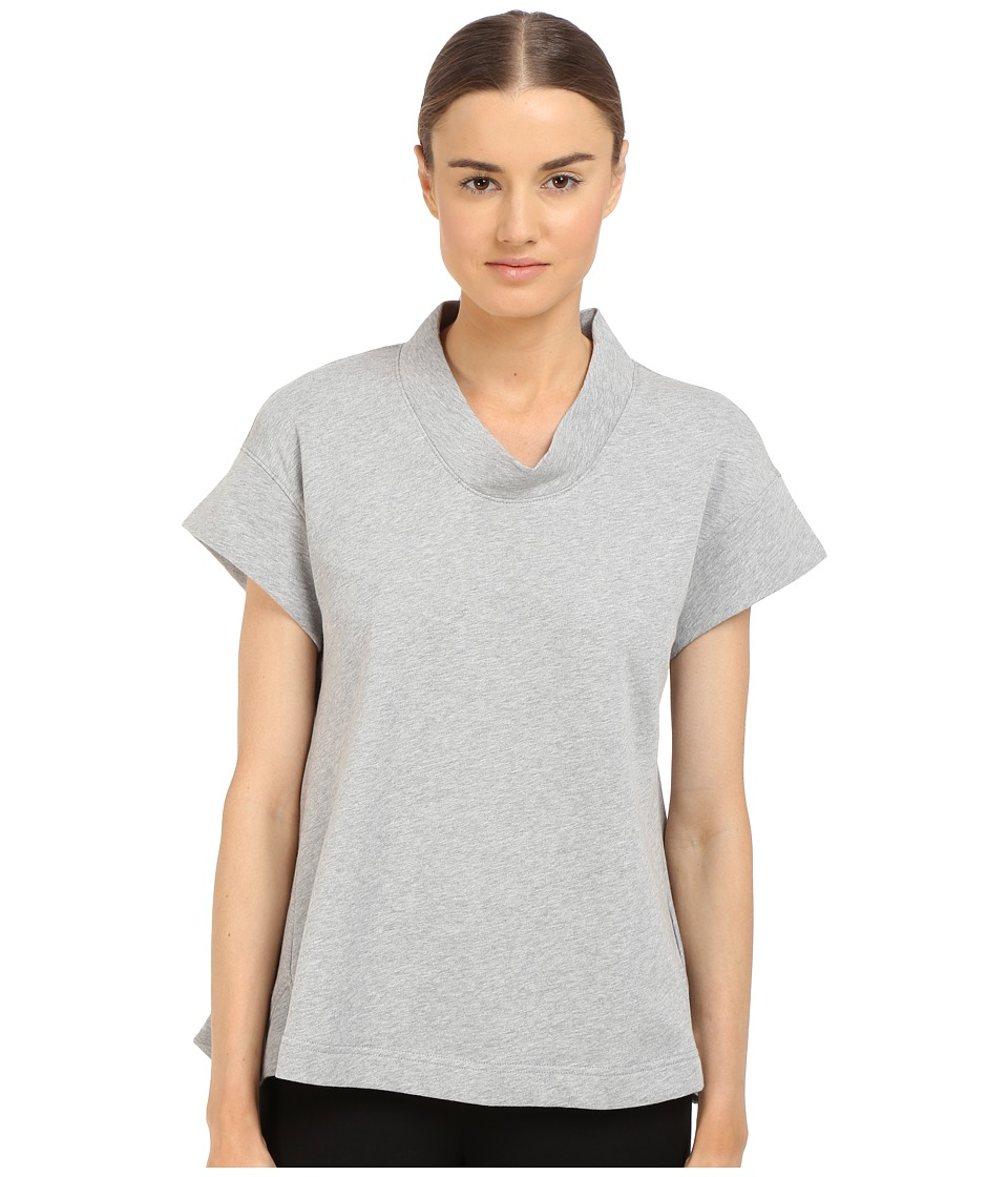 adidas Y-3 by Yohji Yamamoto - Summer Top (Medium Grey Heather) Women's Clothing