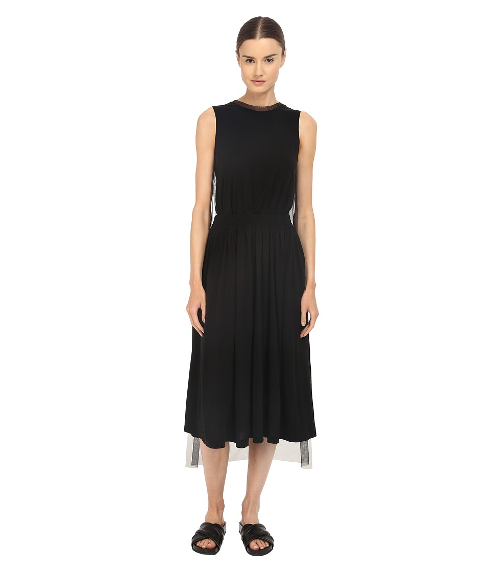 adidas Y-3 by Yohji Yamamoto - Gauze Dress (Black) Women's Dress