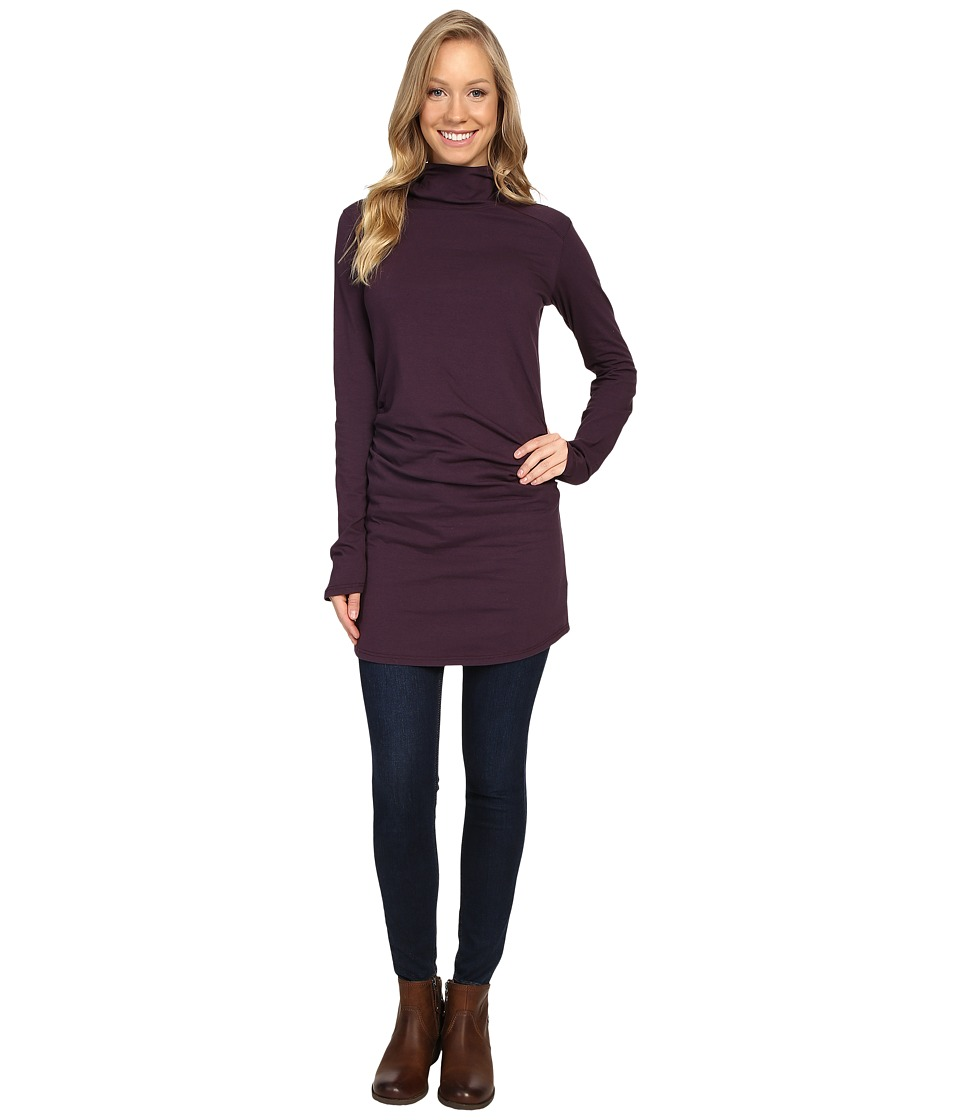 FIG Clothing - Winona Tunic (Aubergine) Women's Dress