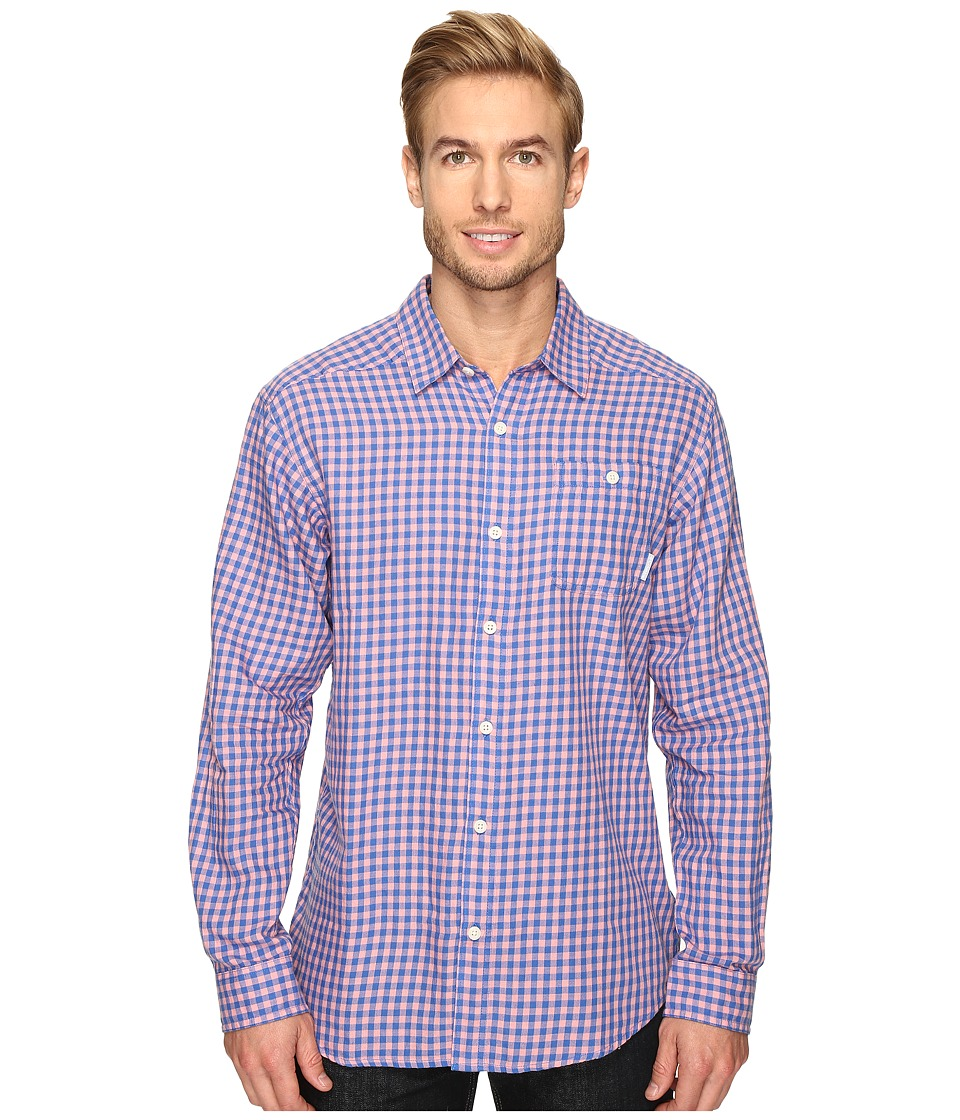 Columbia - Cornell Woods Flannel Long Sleeve Shirt (Sorbet Gingham) Men's Long Sleeve Button Up