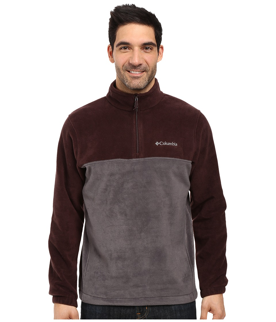 Columbia - Steens Mountain Half Zip (Shark/New Cinder) Men