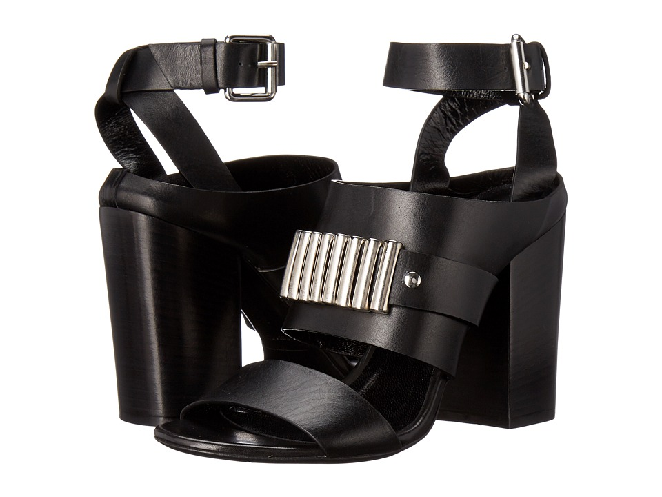 McQ Alibi Bullets Sandal (Black) High Heels