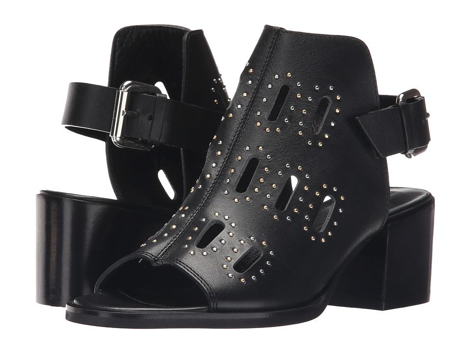 McQ - Ridley Low (Black) High Heels
