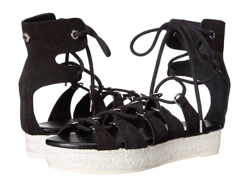 McQ - Cephas Lace-Up Sandal (Black) Women's Sandals