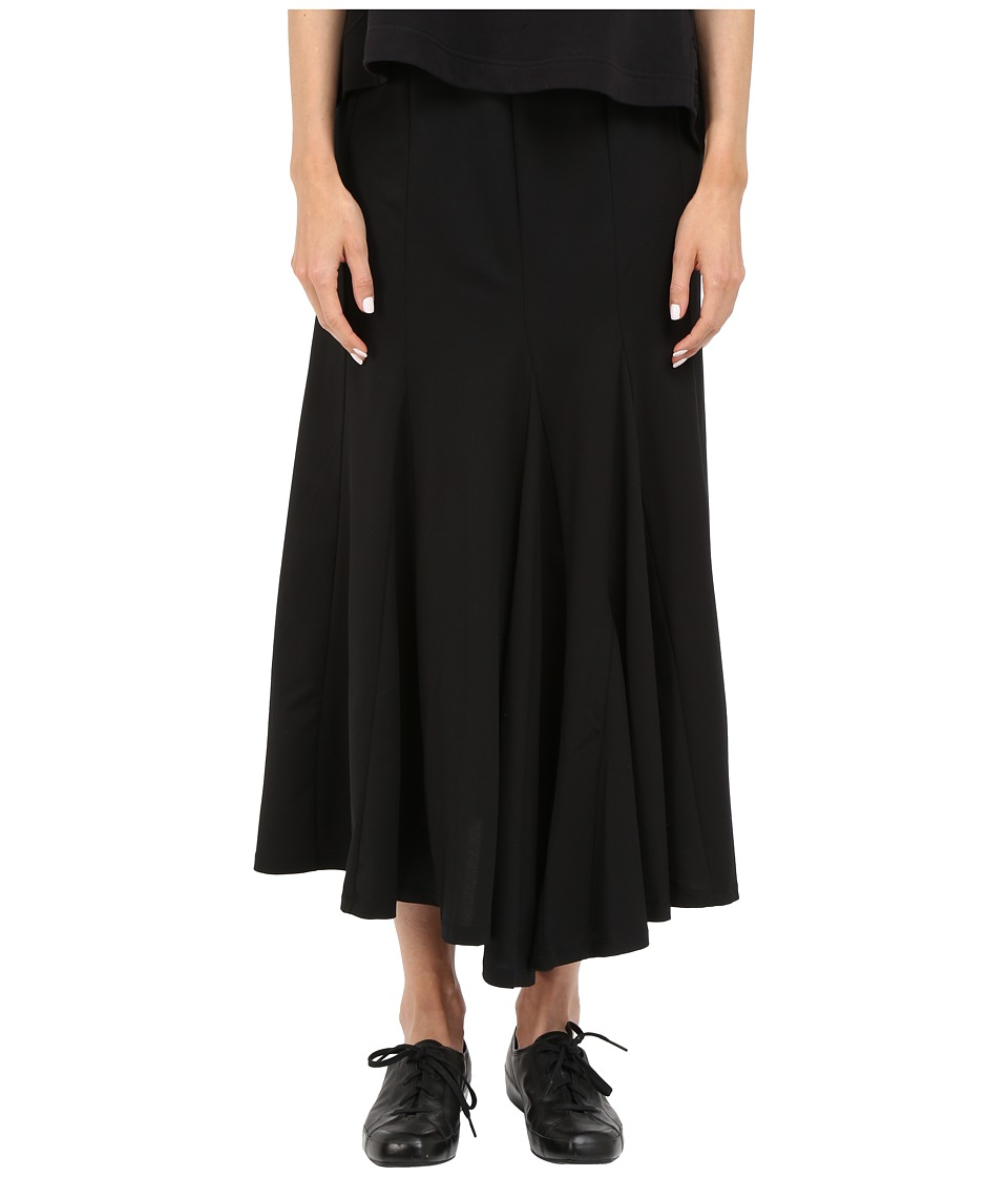 adidas Y-3 by Yohji Yamamoto - Pleated Skirt (Black) Women's Skirt