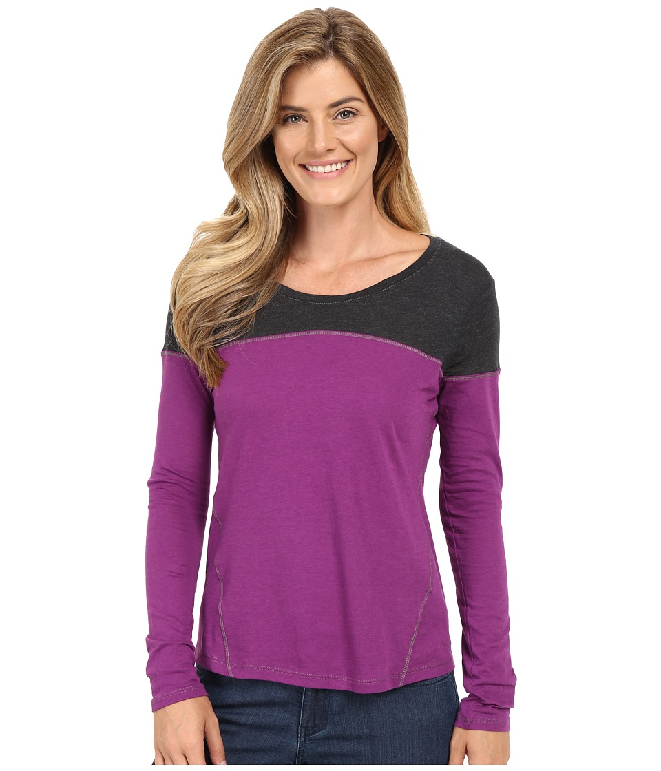 Columbia - Everything She Needs II Long Sleeve (Plum) Women's Clothing