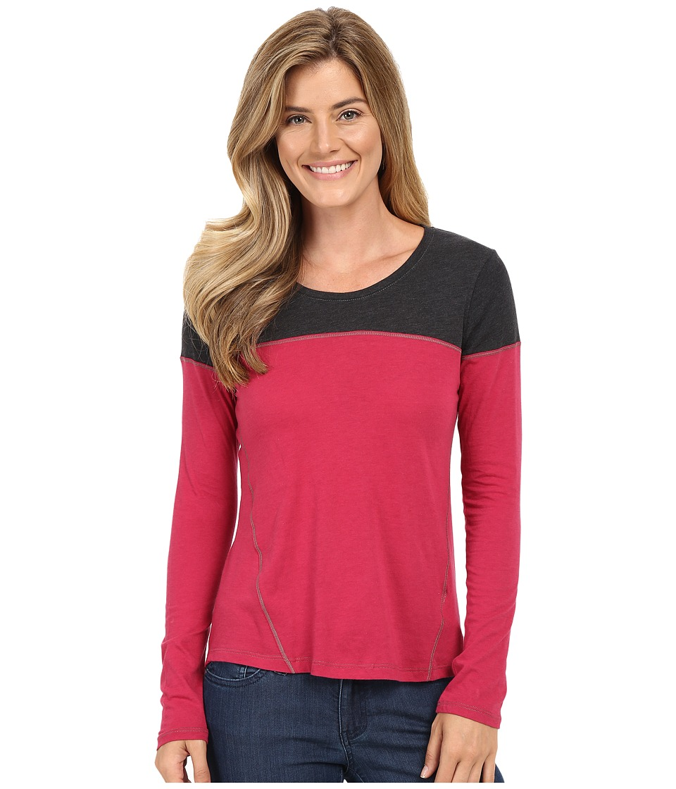 Columbia - Everything She Needs II Long Sleeve (Red Orchid) Women's Clothing