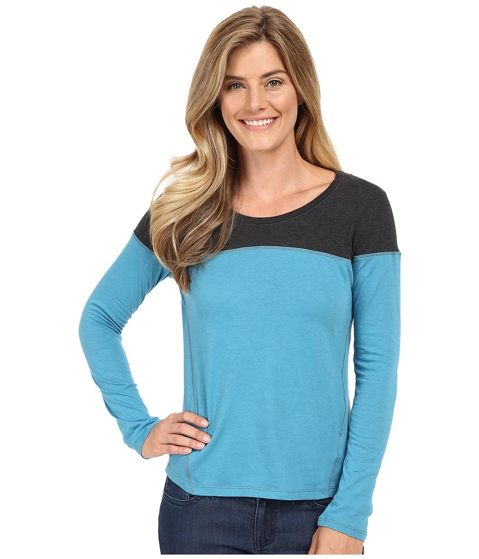 Columbia - Everything She Needs II Long Sleeve (Deep Marine) Women's Clothing