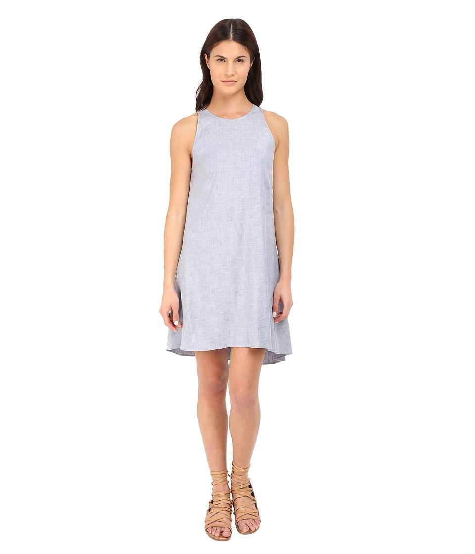 Theory - Adlerdale Tierra Wash Dress (Light Denim) Women's Dress