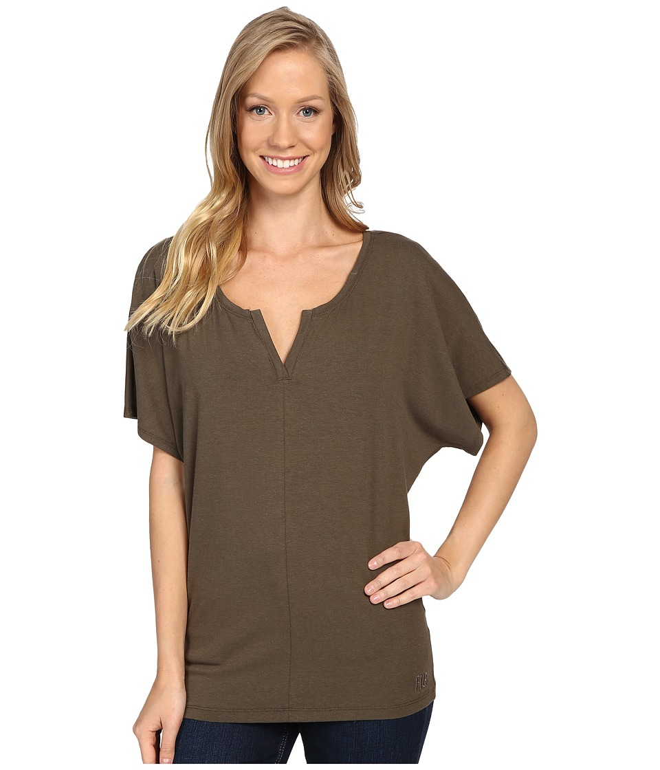 FIG Clothing - Vib Top (Sencha) Women's Short Sleeve Pullover