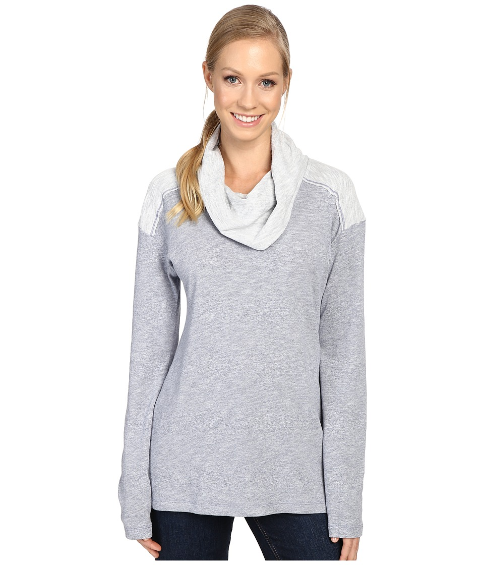Columbia - Easygoing Long Sleeve Cowl (Bluebell) Women's Clothing