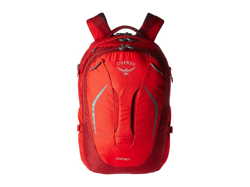 Osprey Comet (Robust Red) Backpack Bags