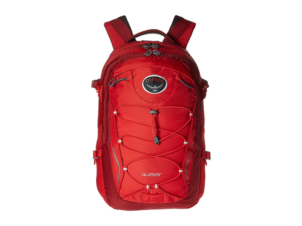 Osprey Quasar (Robust Red) Backpack Bags