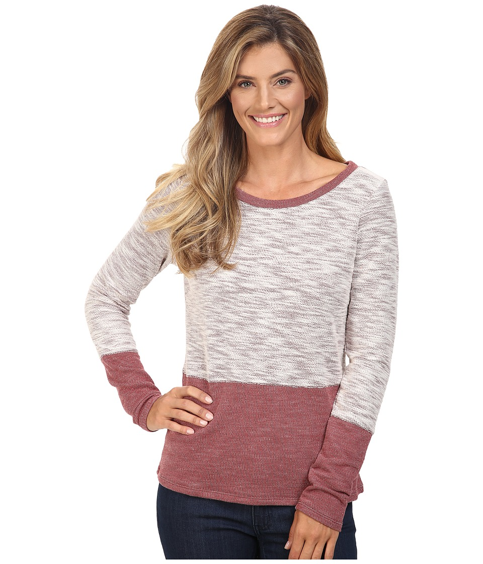 Columbia - Cape Escape Long Sleeve (Marsala Red) Women's Clothing