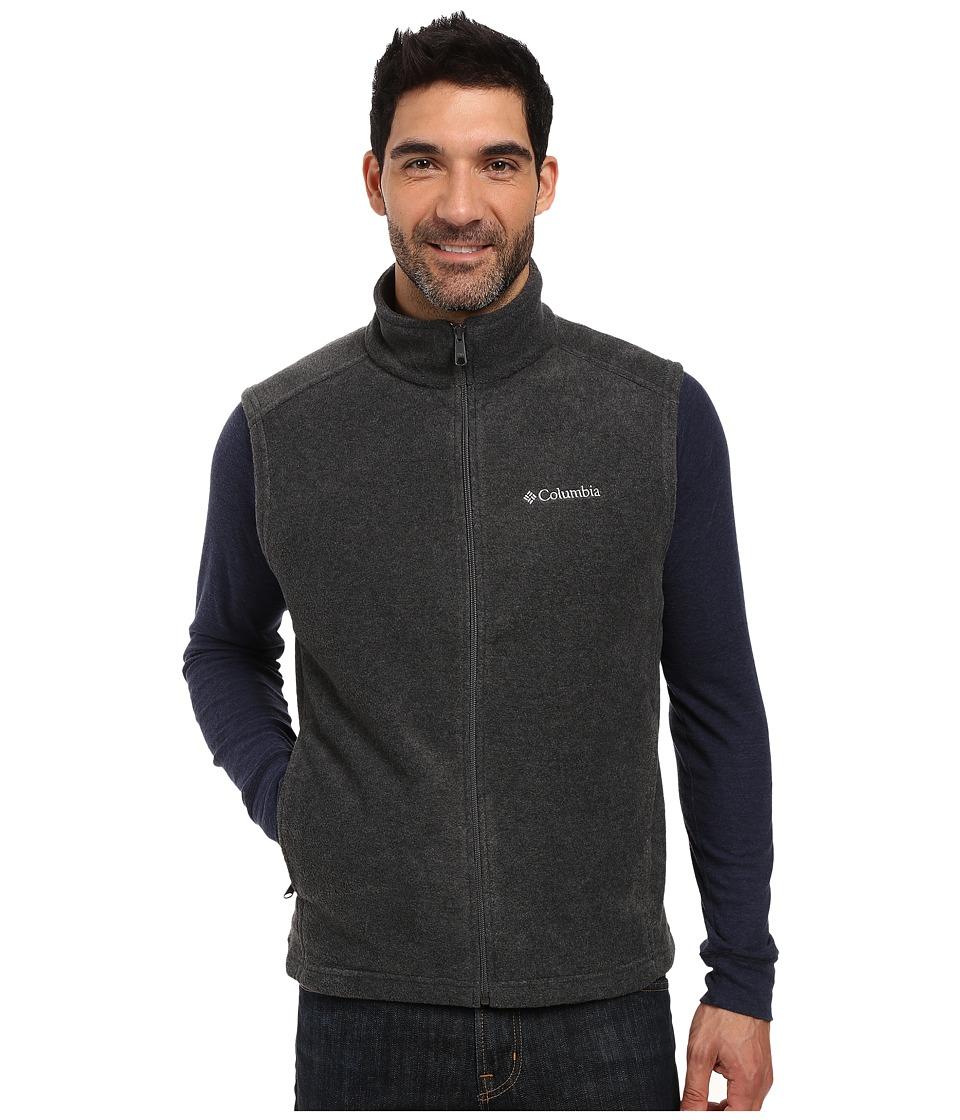 Columbia - Steens Mountain Vest (Charcoal Heather) Men's Vest