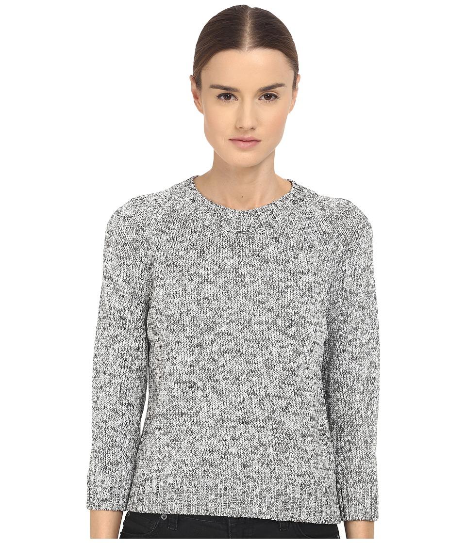 Theory Serino Meridan Sweater (Carob Mix) Women