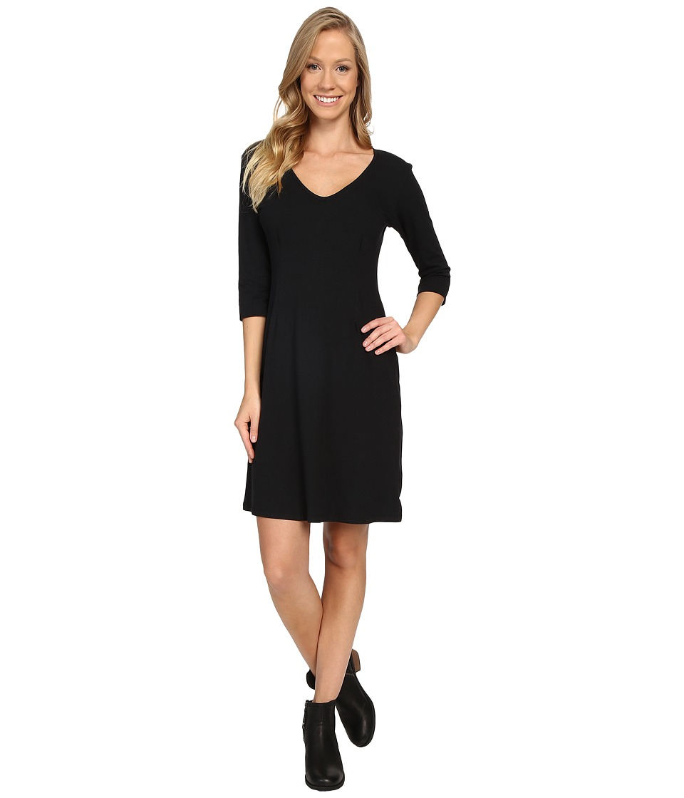 FIG Clothing - Kis Dress (Black) Women's Dress