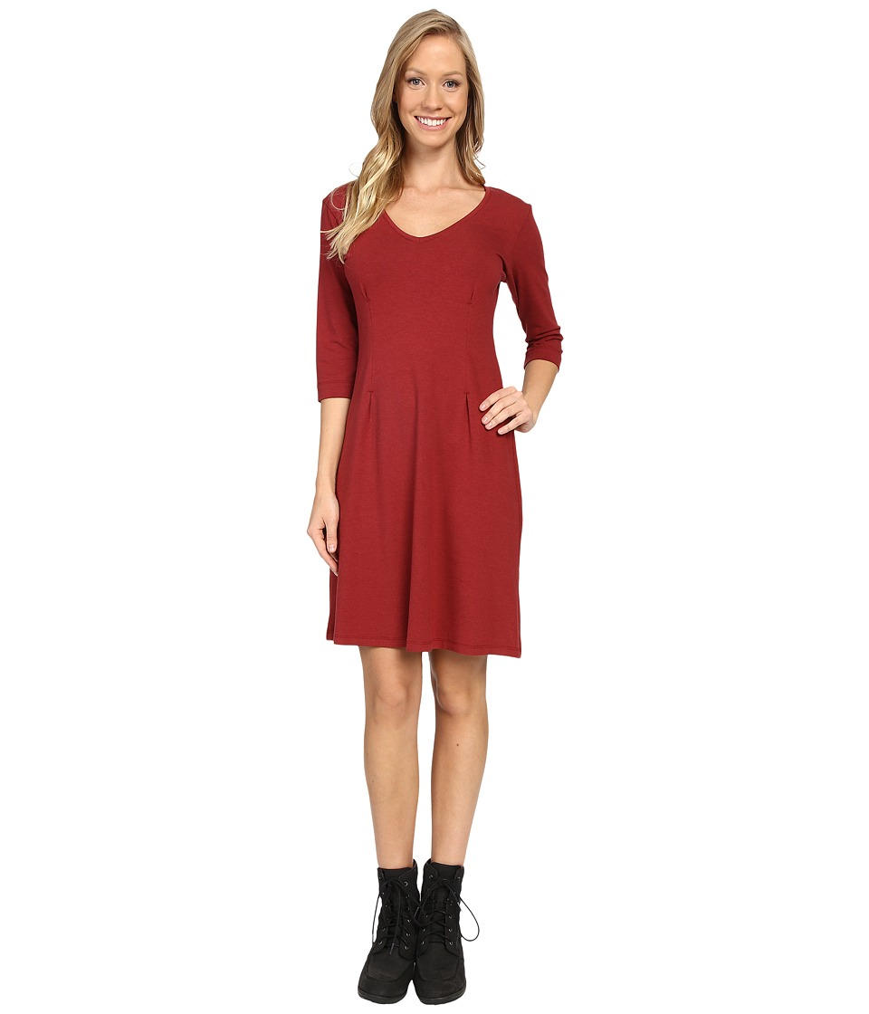 FIG Clothing - Kis Dress (Auburn) Women's Dress