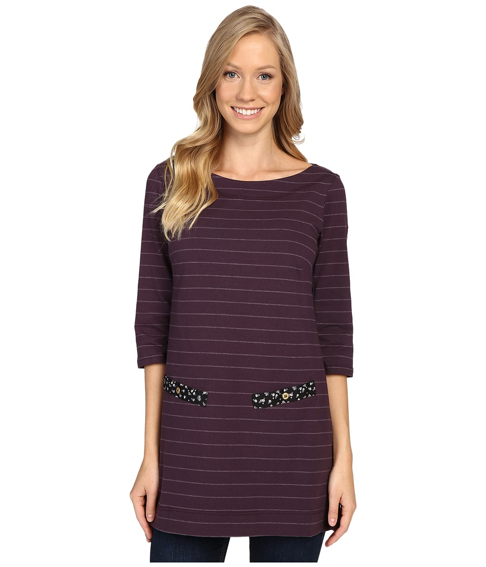 FIG Clothing - Izo Tunic (Aubergine) Women's Blouse