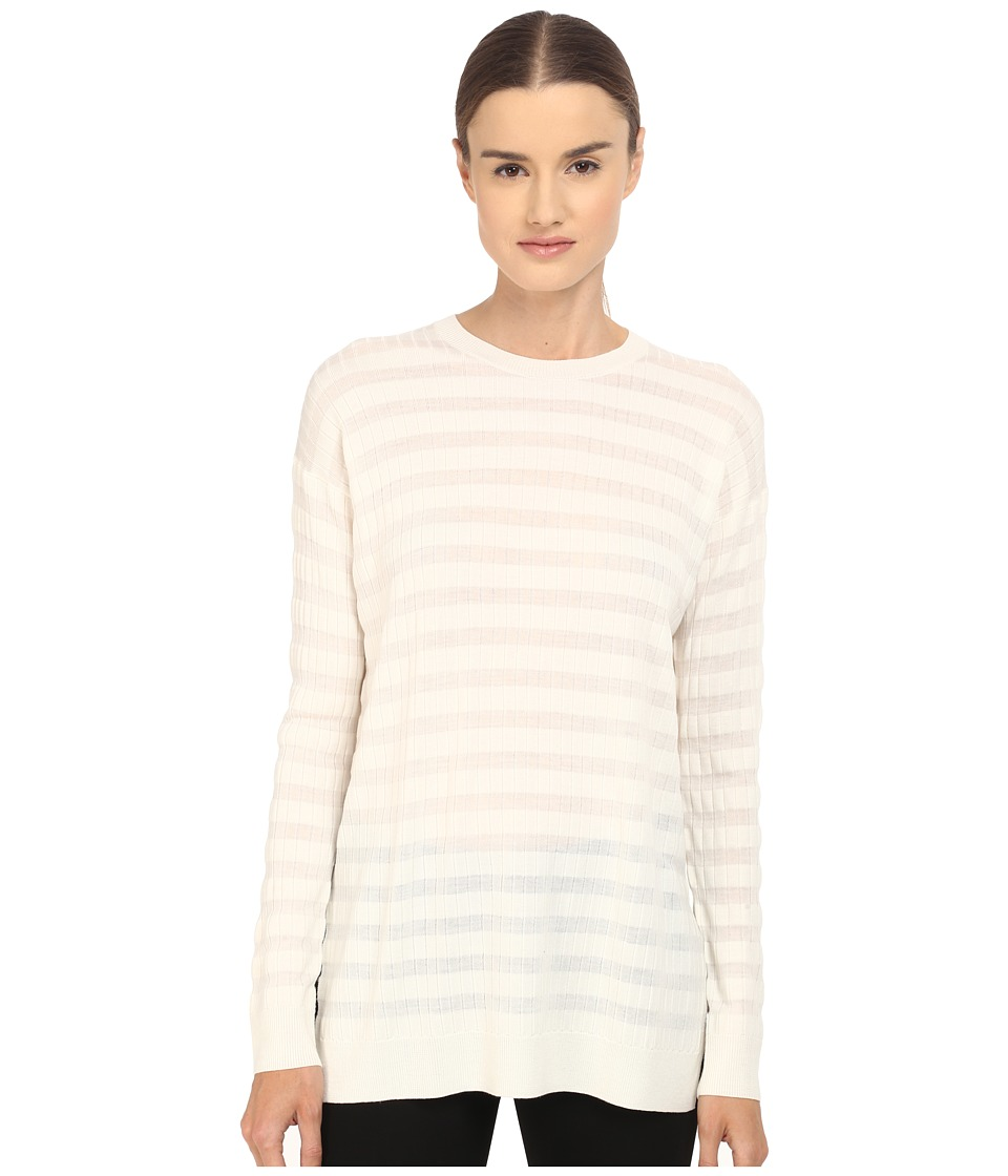 Theory - Hilson Refine Sweater (Ivory) Women's Sweater