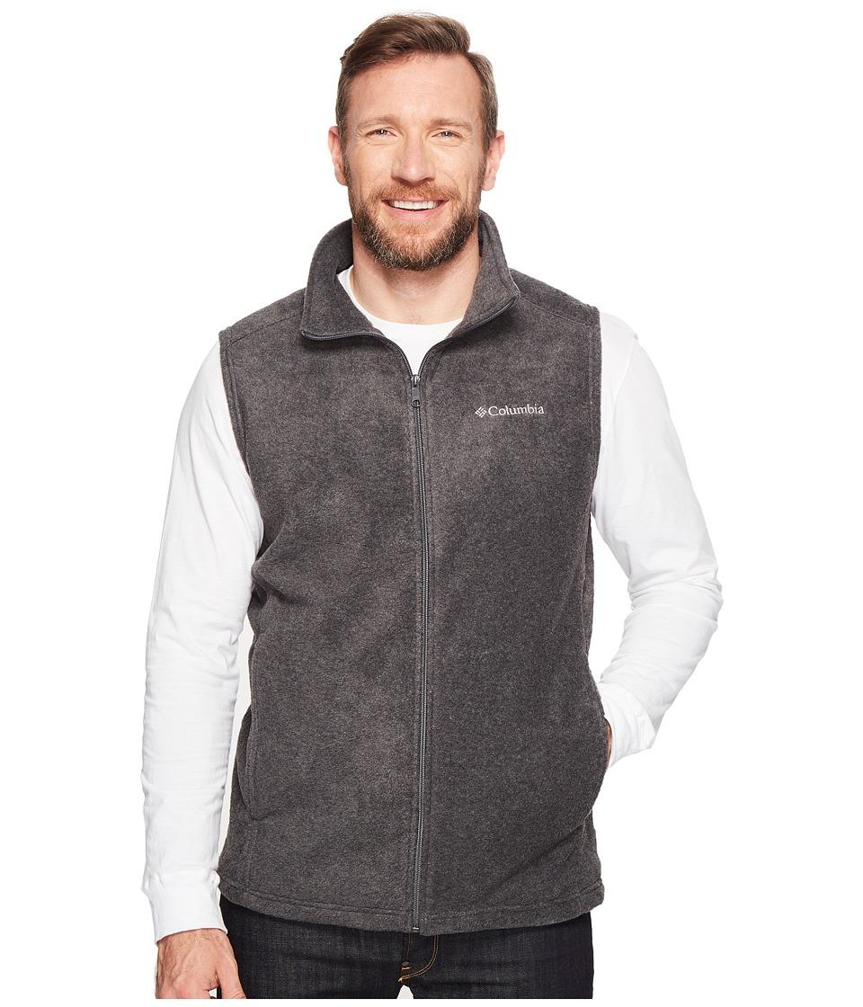 Columbia - Big Tall Steens Mountain Vest (Charcoal Heather) Men's Vest