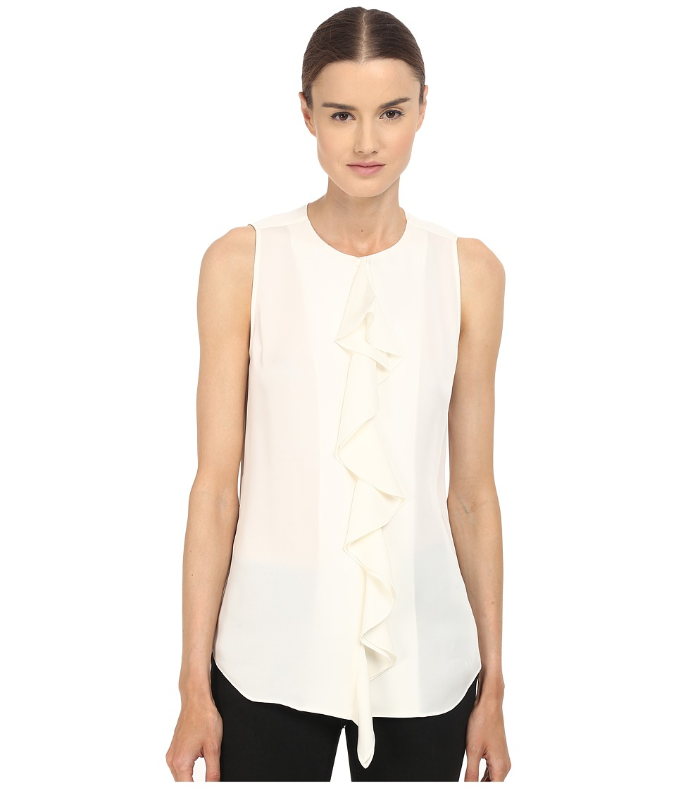 Theory - Jastrid Modern Blouse (Ivory) Women's Blouse