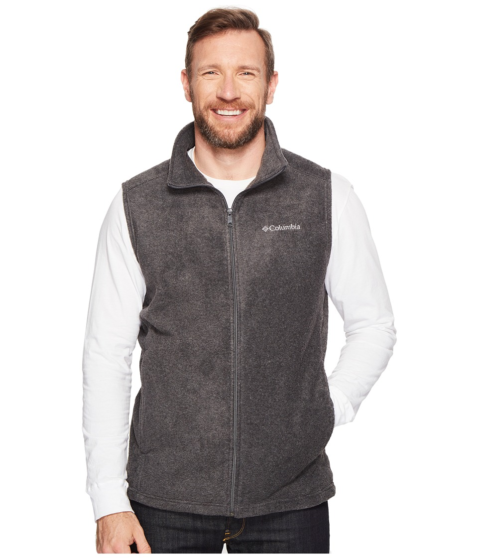 Columbia - Big Tall Steens Mountain Vest (Charcoal Heather) Men's Vest