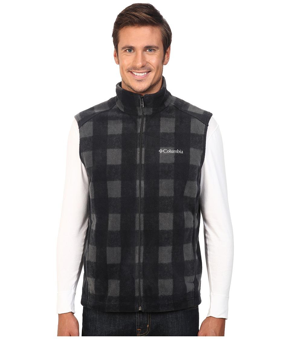 Columbia - Steens Mountain Printed Vest (Shark Buffalo) Men's Vest