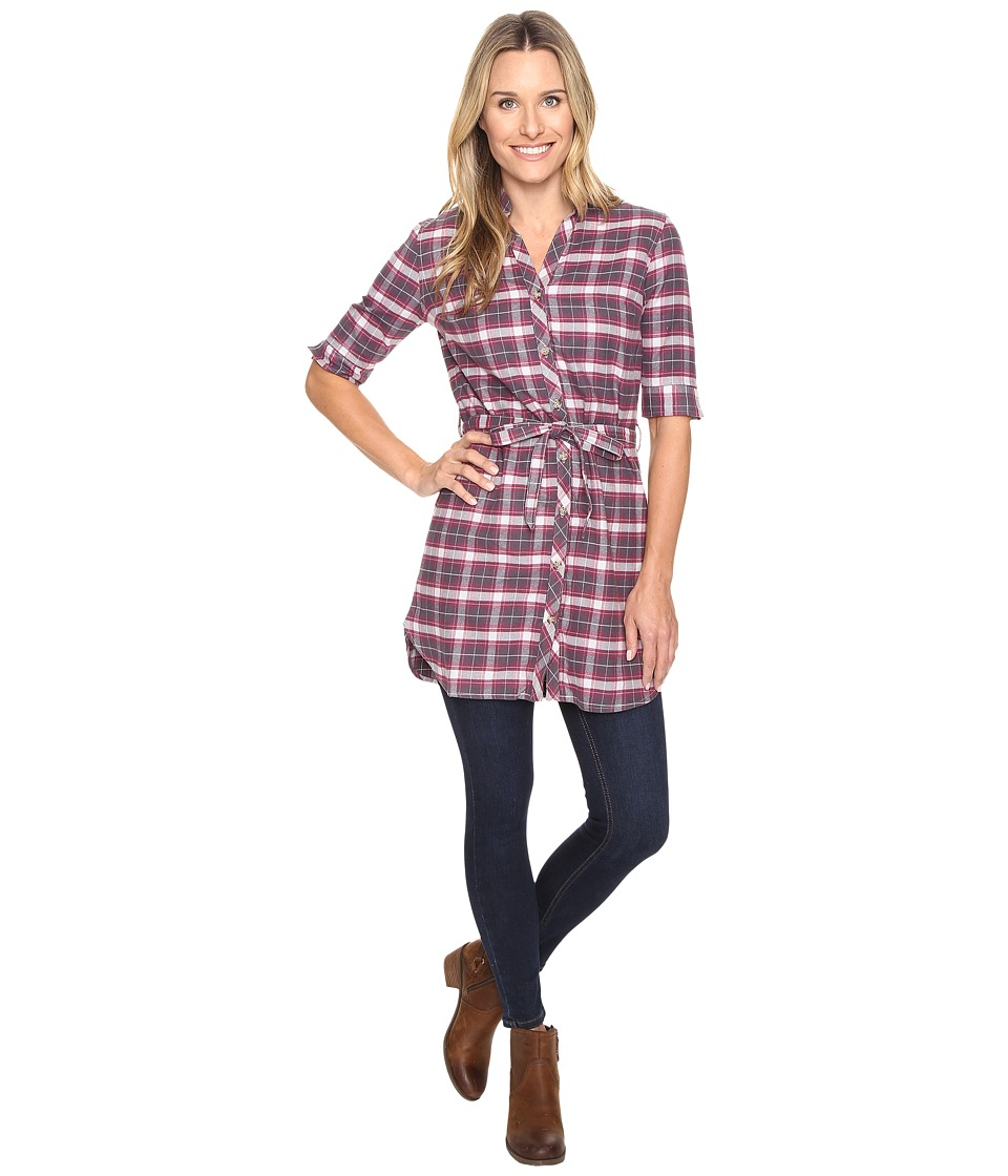 FIG Clothing - Yan Tunic (Plaid Opera) Women's Blouse