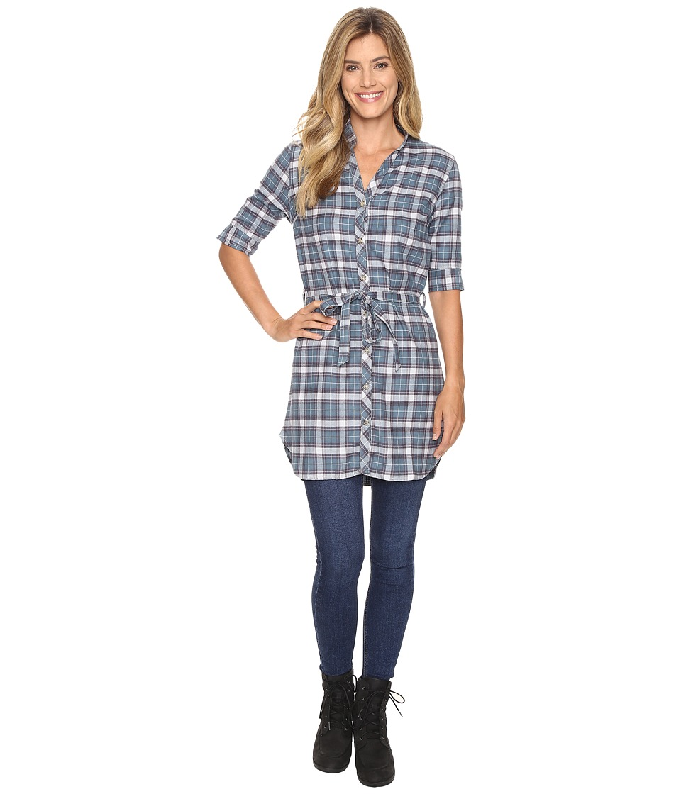 FIG Clothing - Yan Tunic (Plaid Zodiac) Women's Blouse