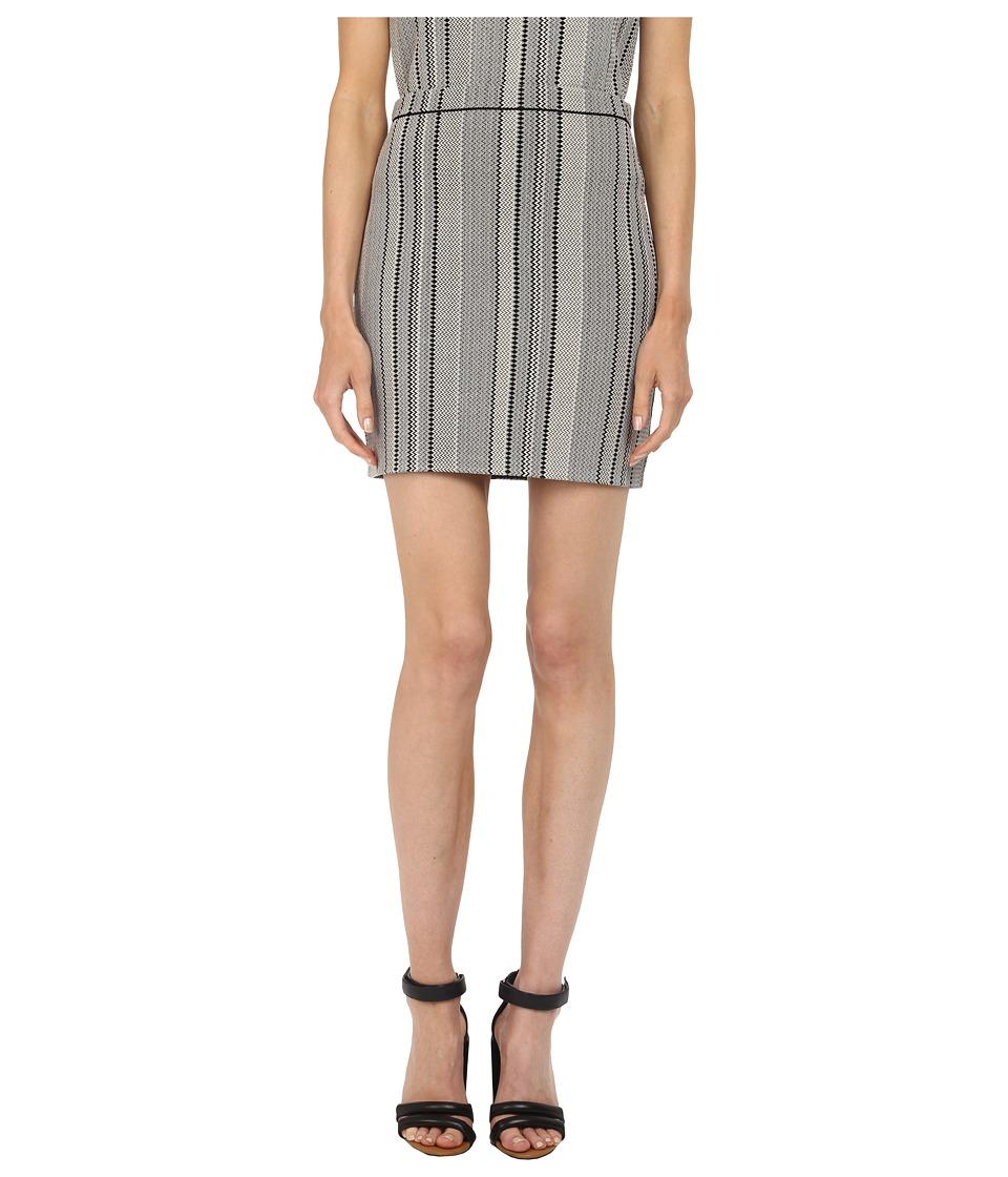 Theory - Nellida Matte Viscose Skirt (Black) Women's Skirt