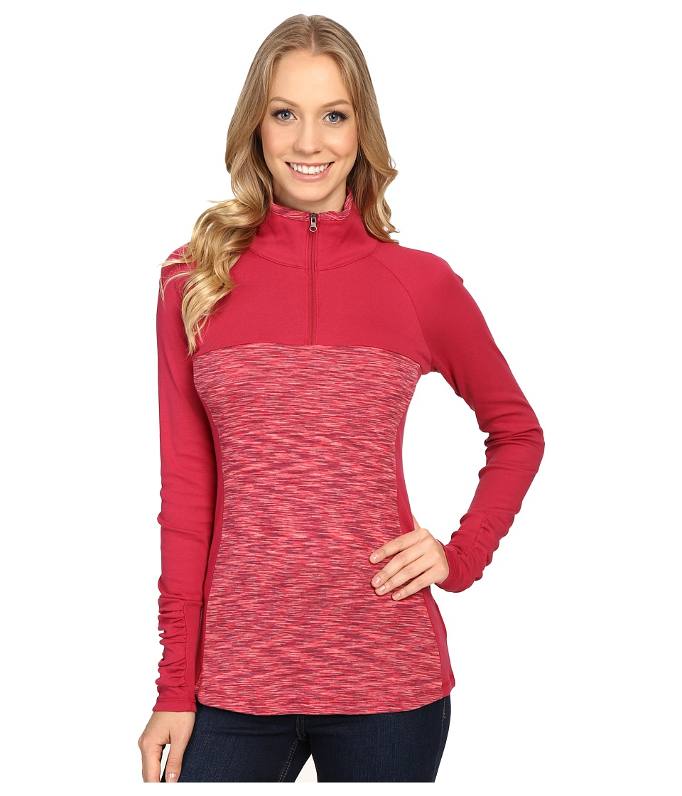 Columbia - Outerspaced II 1/2 Zip (Red Orchid) Women's Clothing