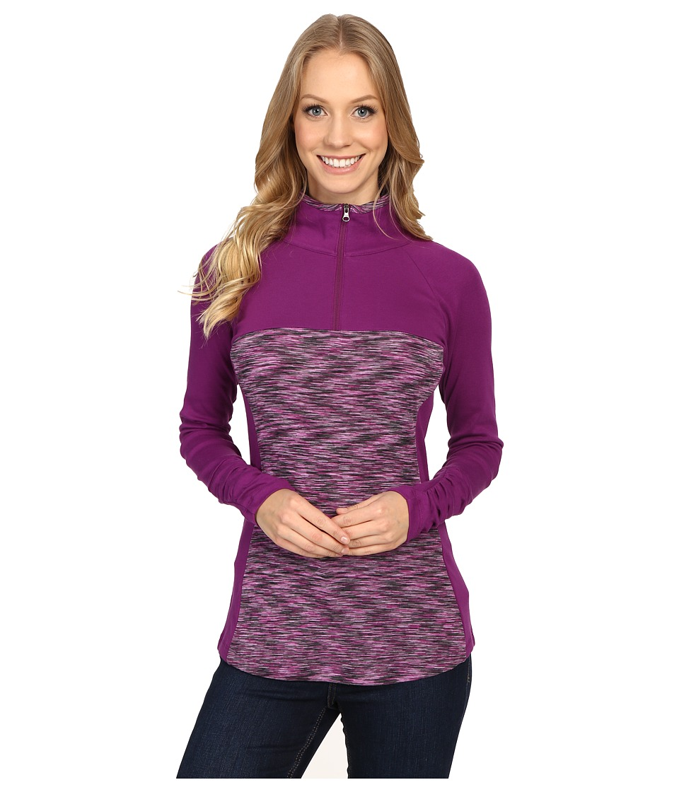 Columbia - Outerspaced II 1/2 Zip (Plum) Women's Clothing