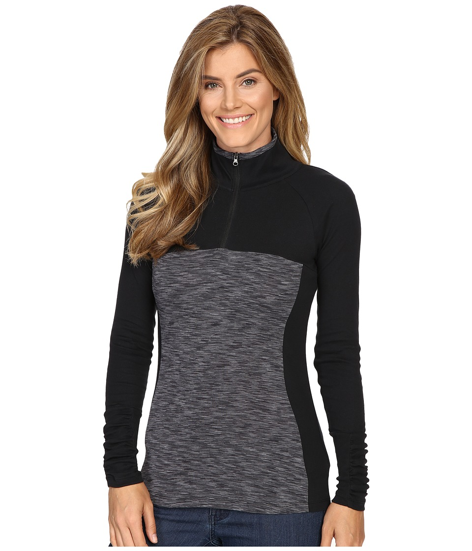 Columbia - Outerspaced II 1/2 Zip (Black) Women's Clothing