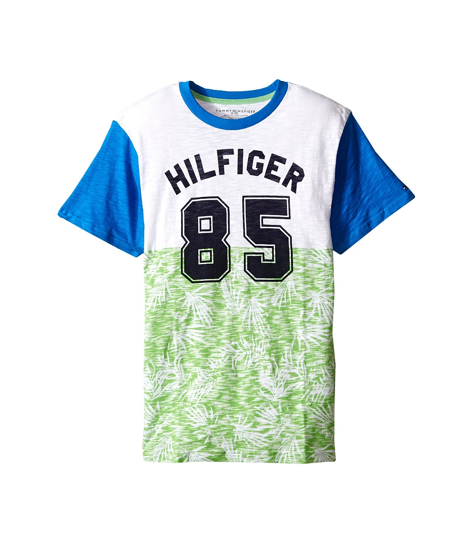 Tommy Hilfiger Kids - Palm 85 Tee (Big Kids) (Go Green) Boy's T Shirt