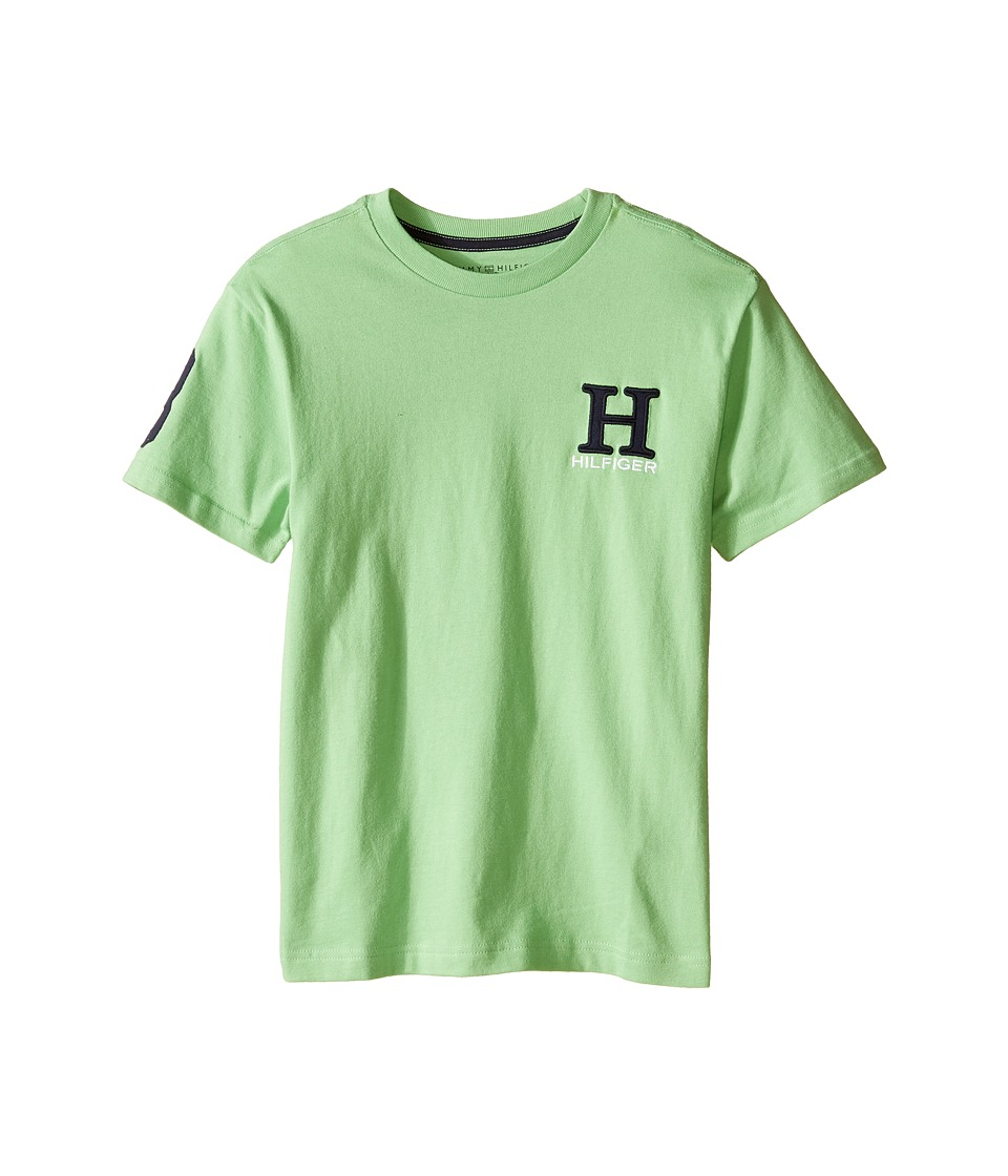 Tommy Hilfiger Kids - Matt Tee (Big Kids) (Go Green) Boy's T Shirt