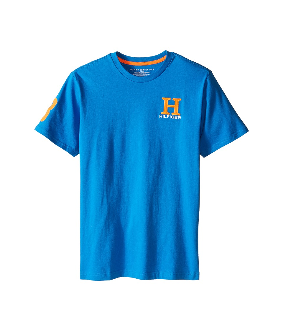Tommy Hilfiger Kids - Matt Tee (Big Kids) (Electric Blue) Boy's T Shirt