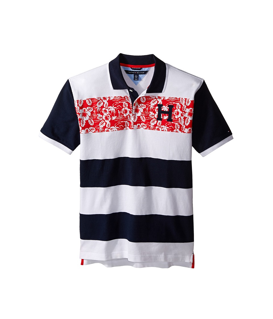 Tommy Hilfiger Kids - Paco Pique Polo (Big Kids) (Swim Navy) Boy's Clothing