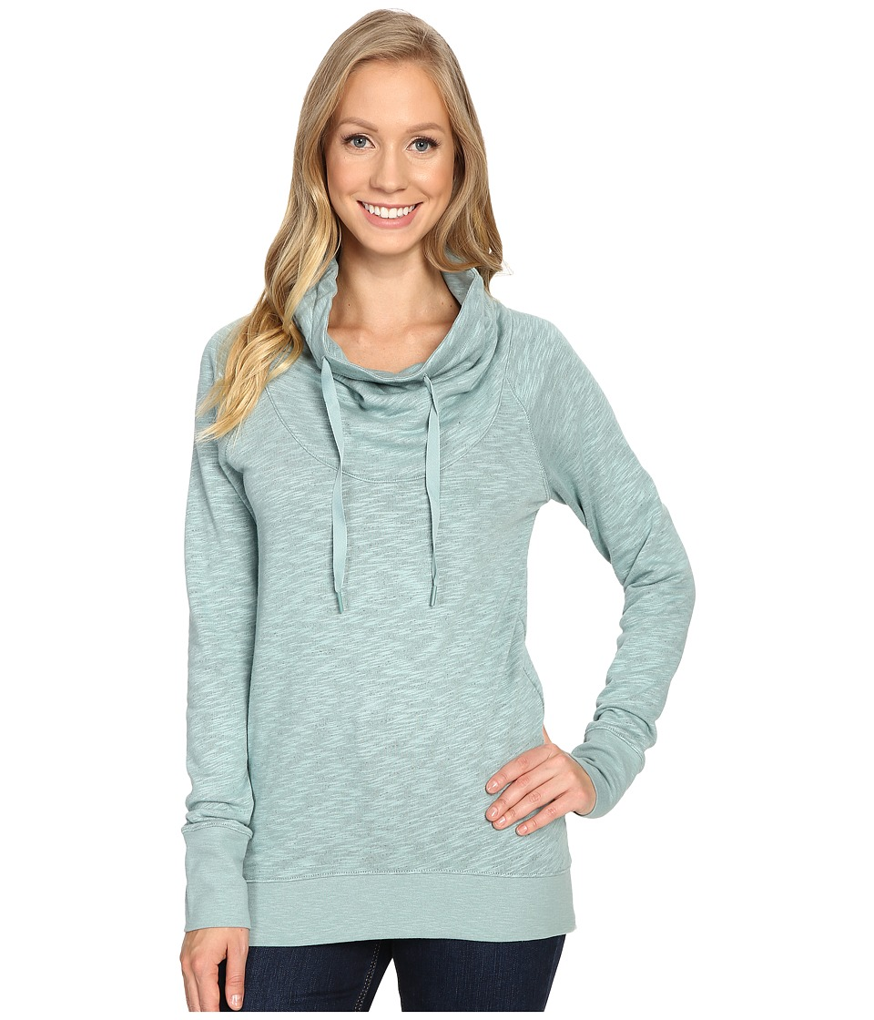 Columbia - Down Time Pullover (Dusty Green Heather) Women's Clothing