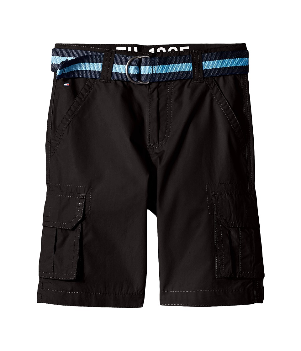 Tommy Hilfiger Kids - Back Country Cargo Shorts (Big Kids) (Tommy Black) Boy's Shorts