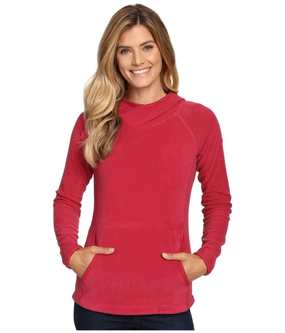 Columbia - Glacial Fleece IV Hoodie (Red Orchid) Women's Sweatshirt
