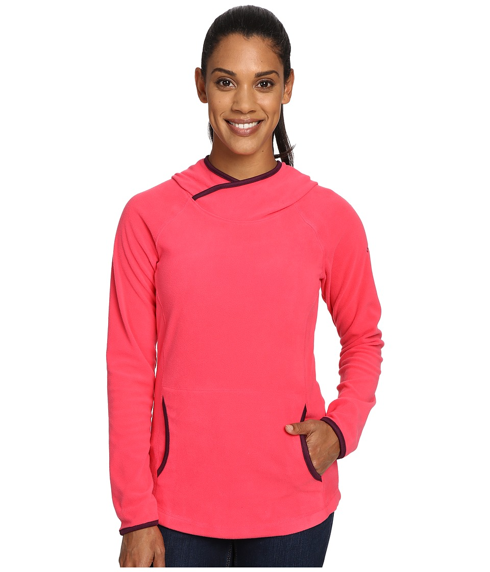 Columbia - Glacial Fleece IV Hoodie (Punch Pink) Women's Sweatshirt